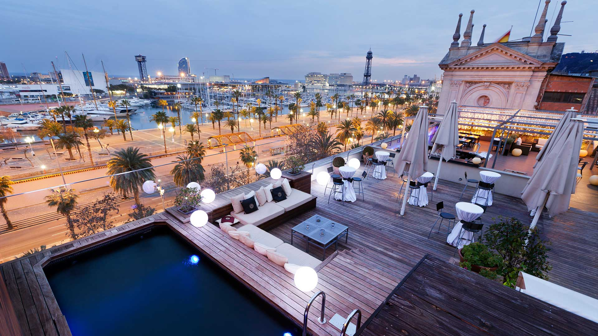 Our Top 5 Hotel Terraces In Barcelona
