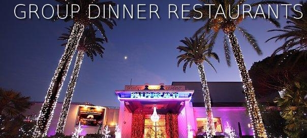 TOP 5 CANNES GROUP DINNER RESTAURANTS