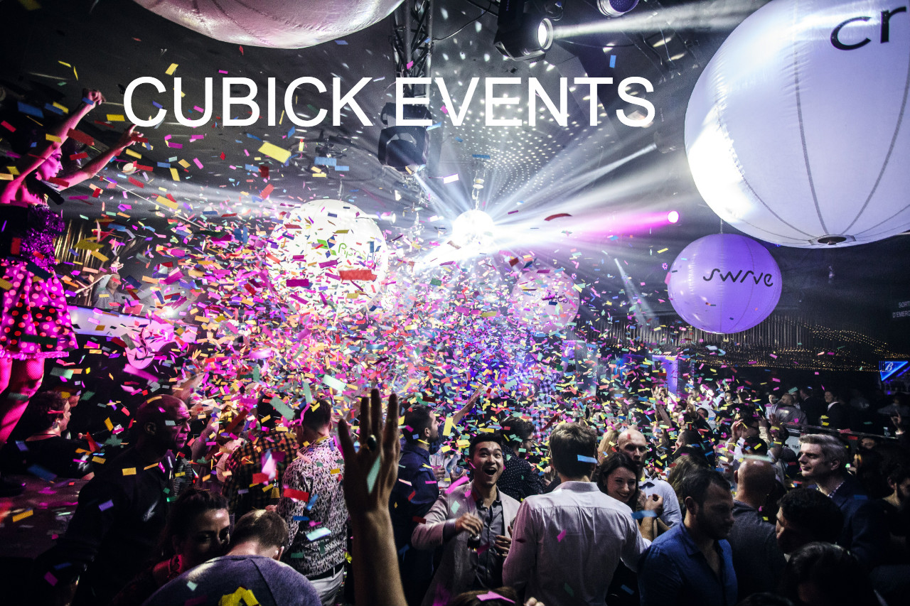 CUBICK EVENTS